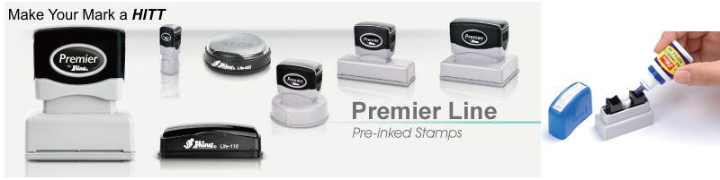 Shiny Pre-Inked Stamps Shiny Eminent Pre-Inked Stamp