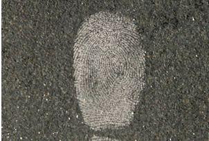 White Fingerprint Powder