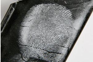 White Magnetic Fingerprint Powder