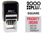 2000 Plus Square Rubber Stamps