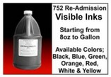 752 Re-Admission Visible Inks