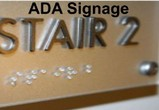 ADA Signs with Braille