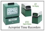 Acroprint Time Clocks