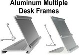 Multiple Sign Desk Frames
