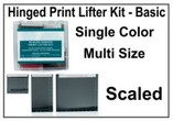 Hinged Print Lifter Kit - Basic - Single Color, Multi Size - Scaled