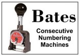 Bates Consecutive Numbering