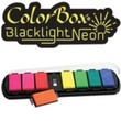 ColorBox Blacklight Neon Paintbox