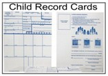 Child Fingerprint Record Cards