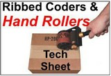 Roll Printers with Ribbed Rubber Tech Sheet