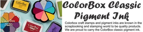 Pigment: ColorBox® 3-Color Ink Pad