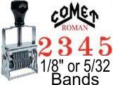 Comet CAR Alphabet Self-Inking Stamp