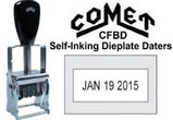CFBD Comet Dieplate Daters