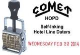 HOPD Comet Hotel Line Daters