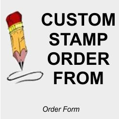 Dater Stamp Order Form