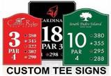 Custom Tee Signs