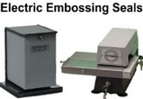 Electric Desk Embossing Seals