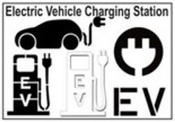 Electric Vehicle Charging Stencils