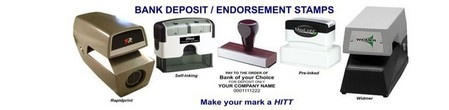 Bank Deposit Endorsement Stamps