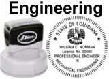 Engineering State Seals, PRE-INKED