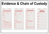 Labels - Evidence & Chain of Custody