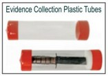 Evidence Collection Plastic Tubes