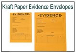 Kraft Paper Evidence Security Envelopes
