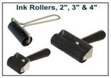 Fingerprint Paste Ink Rollers / Brayers