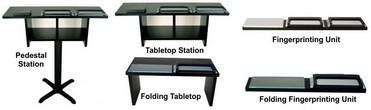 Tabletop Fingerprinting Units