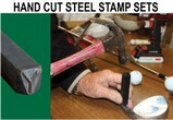 Hand Cut Steel Stamp Sets