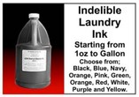 Indelible Laundry Industrial Inks