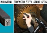 Industrial Strength Steel Stamp Sets