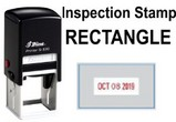 Rectangle Inspector Stamps