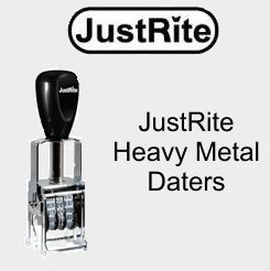 Justrite Heavy Duty Metal Frame Daters