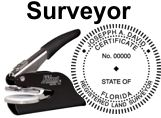 Land Surveyor State Seals, EMBOSSERS