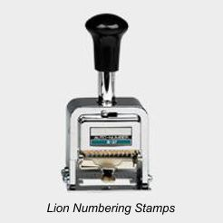 Lion Numbering Machines