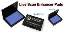 Live Scan Enhancer Pads Pre-Scan Fingerprint Pads Live Scan Fingerprinting