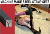Machine Made Steel Stamp Sets