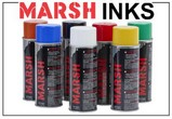 Marsh Aerosol Spray Inks