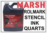 Marsh Rolmark Stencil Ink