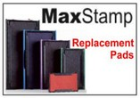 MaxStamp Replacement Ink Cartridges / Pads