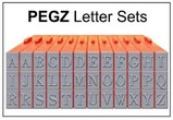 PEGZ Clickable Letterz Sets
