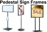 Standing Sign Frames / Pedestal Sign Frames