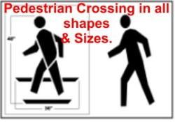 Pedestrian Crossing Stencils
