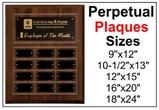 Premier Perpetual Plaques