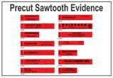 Seals - Precut Sawtooth Evidence