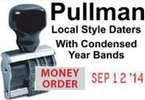Pullman Local Style Abbreviated Year