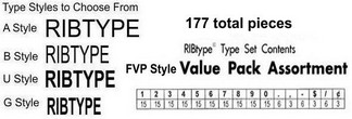 RibType Figures Value Packs
