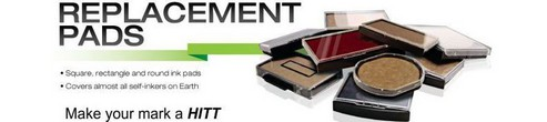 HITT Traditional Self-Inking Stamps