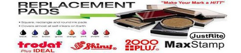 Self-Inking Replacement Pads Replacement Ink Pads Stamp replacement Pads