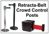 Retracta-Belt® Crowd Control Posts